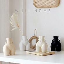 Vases en céramique pour corps humain, accessoires