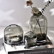 Vases simples européens, Vase créatif en verre