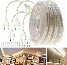 VAWAR 15m Ruban à LED sans fil électrique -