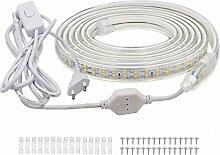 VAWAR 1m Ruban à LED avec interrupteur - blanc