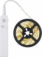 VAWAR 2m Bande LED avec détecteur de mouvement,