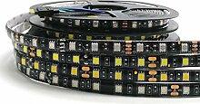 VAWAR 5m Ruban de LED - blanc froid, 5050 300 LED,