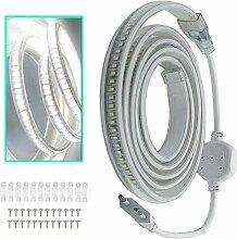 VAWAR Ruban à LED Bande Strip, 2M - Blanc Chaud,