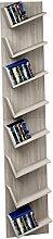 VCM LANSI Maxi-étagère pour CD / DVD, Sonoma