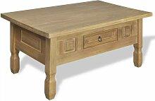 VDTD08896_FR Table basse avec tiroir Pinède