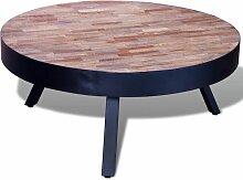 VDTD08940_FR Table basse ronde Bois de teck