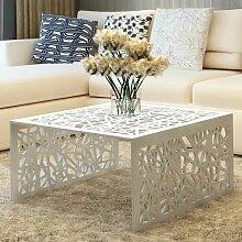 VDTD09206_FR Table basse argentée Design