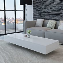 VDTD10255_FR Table basse Haute brillance Blanc -