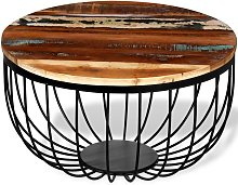 VDTD10384_FR Table basse Bois de récupération