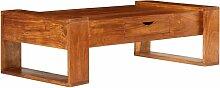 VDTD12037_FR Table basse Bois d'acacia solide