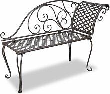 VDTD26221_FR Chaise longue de jardin 128 cm Acier