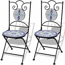 VDTD26557_FR Chaises pliables de bistro 2 pcs