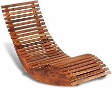 VDTD27162_FR Chaise longue basculante Bois