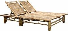 VDTD28002_FR Chaise longue pour 2 personnes Bambou