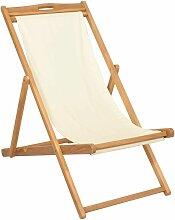 VDTD28040_FR Chaise de terrasse Teck 56 x 105 x 96
