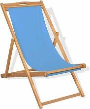 VDTD28041_FR Chaise de terrasse Teck 56 x 105 x 96