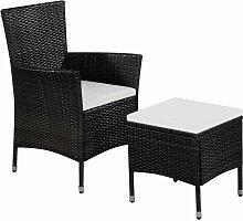 VDTD28305_FR Chaise et tabouret d'extérieur