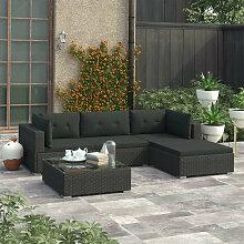 VDTD30095_FR Mobilier de jardin 5 pcs avec