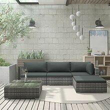 VDTD30125_FR Mobilier de jardin 5 pcs avec