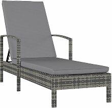 VDTD30286_FR Chaise longue avec accoudoirs Résine
