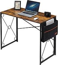 VECELO Bureau d'ordinateur Pliable Bureau de