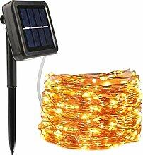 Vegena Guirlande Lumineuse Exterieur Solaire, 20M