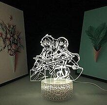 Veilleuse 3D à LED Harry - Anime Sword Art Online
