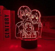 Veilleuse 3D à LED Harry pour boutique cadeau