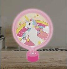 Veilleuse hors puericulture lampe néon licorne