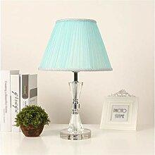Veilleuse Lampe de table de cristal moderne de