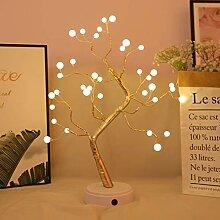 Veilleuse lumineuse en forme d'arbre de Noël