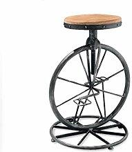 Vélo Modélisation en Fer Forgé Tabouret
