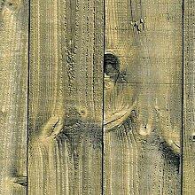 Venilia 54659 Film adhésif en bois rustique -