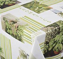 Venilia AROMATICS Nappe Green Herbs Linge de Table