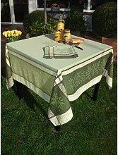 Vent du Sud Nappe tissée motif olives, 160 x 300