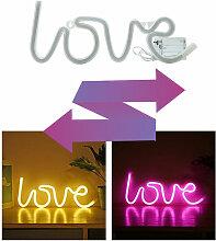Vente directe d'usine neon lettre d'amour