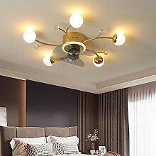 Ventilateur Avec LED Lumières Fan Salon