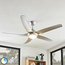 Ventilateur de plafond avec lampe 'Dora'