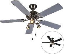 Ventilateur de plafond gris - Mistral 42