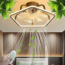 Ventilateur De Plafond LED Lampe De Plafond À