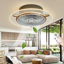 Ventilateur De Plafond LED Ventilateur Invisible