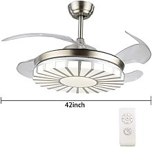 Ventilateur de plafond rétractable 220 V 36 W