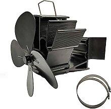 Ventilateur de PoêLe à 4 Pales CheminéE à