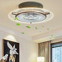 Ventilateur Électrique Invisible Lustre Créative