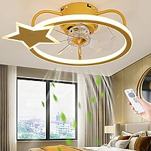 Ventilateur LED Plafonnier Moderne Créatif