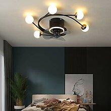 Ventilateur Plafond Avec Lumière LED 3 Lames