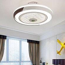 Ventilateurs De Plafond Creative Invisible Fan LED
