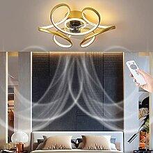 Ventilateurs Plafond Modernes LED Avec Lampe