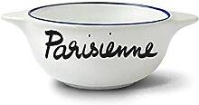Véritable bol breton en faïence de Pornic -