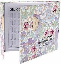 Vernis à ongles Affichage du livre - Gel Delaman